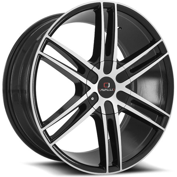 Cavallo CLV-20 Gloss Black Machined