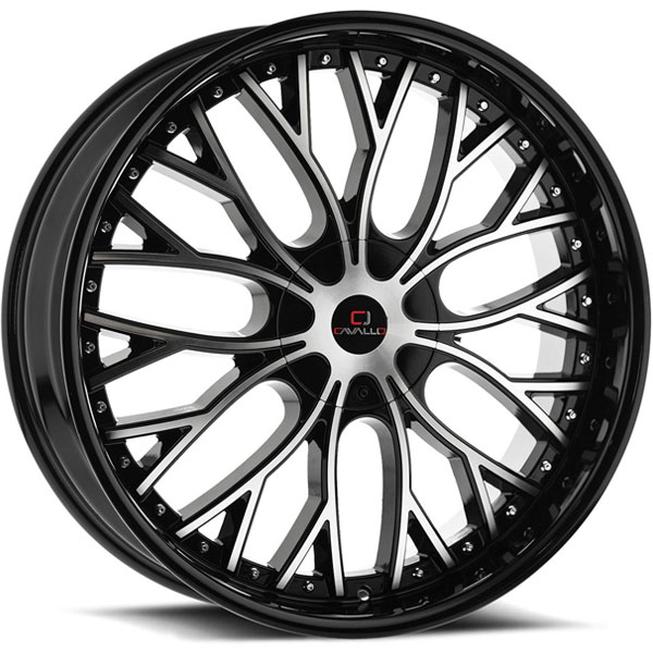 Cavallo CLV-33 Gloss Black Machined