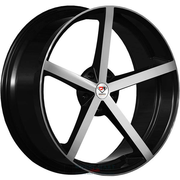 Dcenti Racing DCTL009 Black with Machined Face