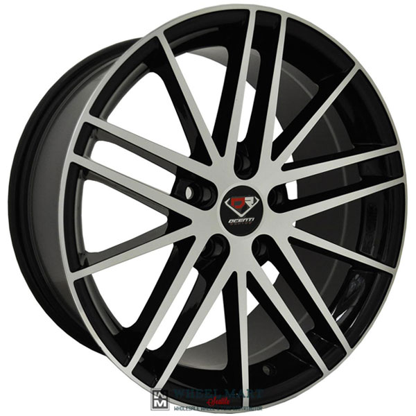 Dcenti Racing DCTL012 Black with Machined Face