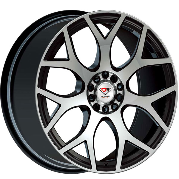Dcenti Racing DCTL043 Black with Machined Face