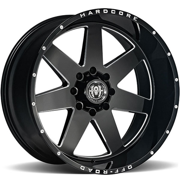 Hardcore Off-Road HC14 Gloss Black Milled