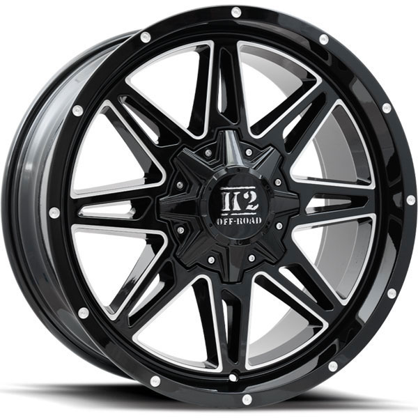 K2 OffRoad K11 Renegade Gloss Black with Milled Spokes