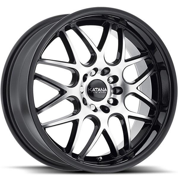 Katana KR32 Gloss Black with Machined Face