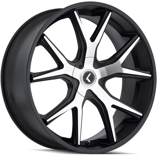 Kraze 146 Splitz Black with Machined Face