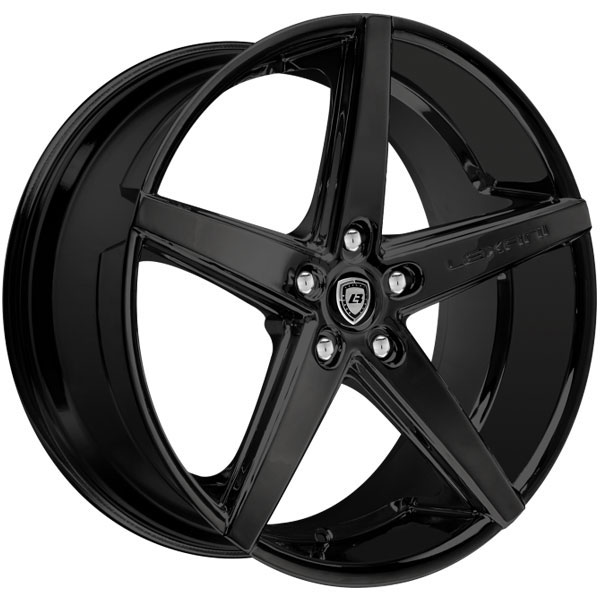 Lexani R-Four Gloss Black