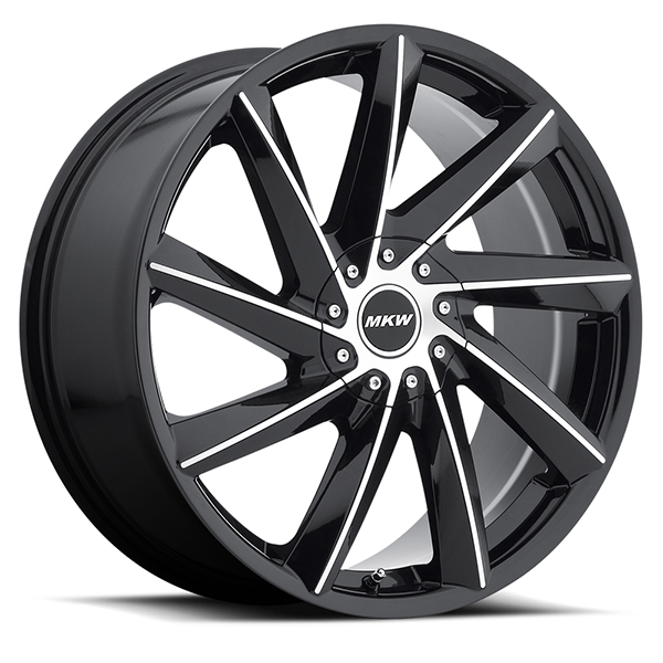 MKW M115 Gloss Black with Machined Face