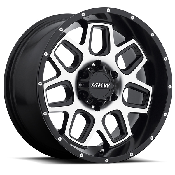 MKW M92 Satin Black with Machined Face
