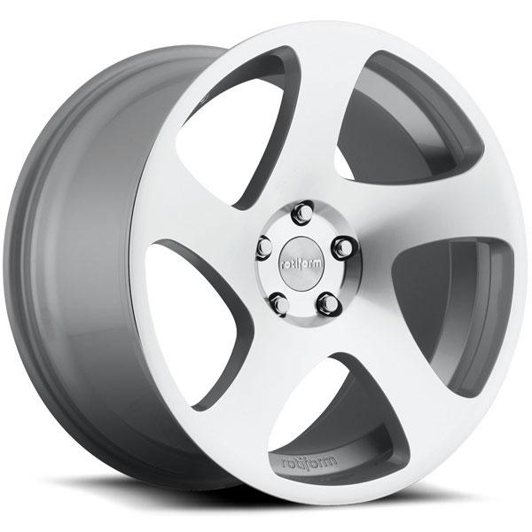 Rotiform TMB Silver Machined