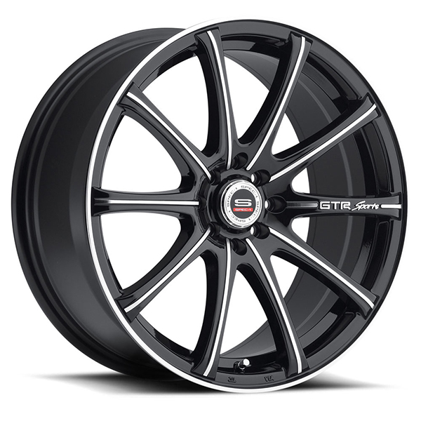 Spec-1 SP-19 Gloss Black with Machined Face