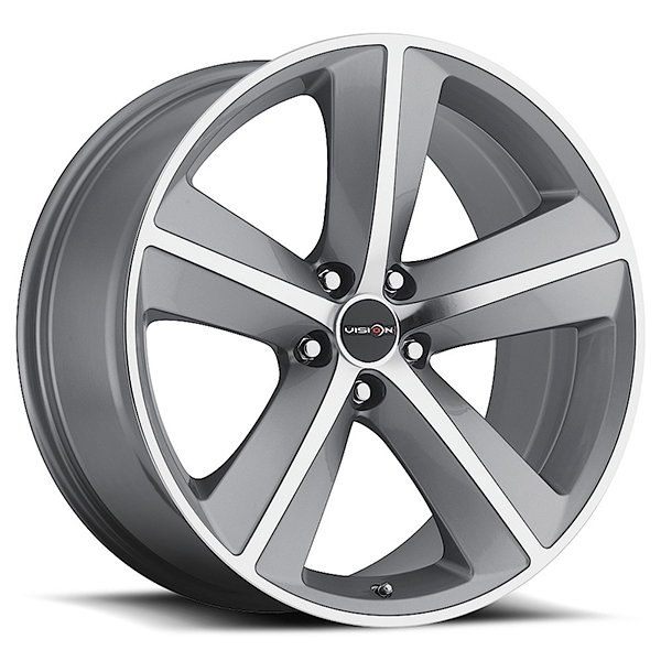 Sport Concepts 859 Gunmetal with Machined Face and Lip