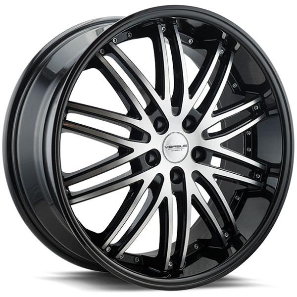 Versus VS907 Black with Machined Face