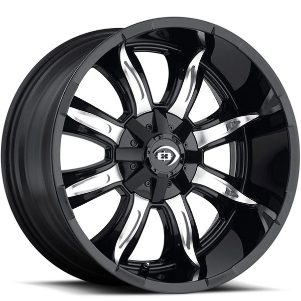 Vision 423 Manic Gloss Black with Machined Face