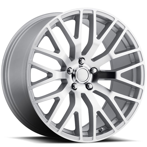 Voxx Replica Mustang Performance Silver with Machined Face